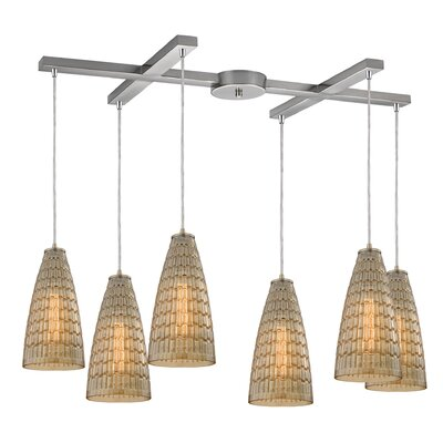 Saba 6-Light Kitchen Island Pendant