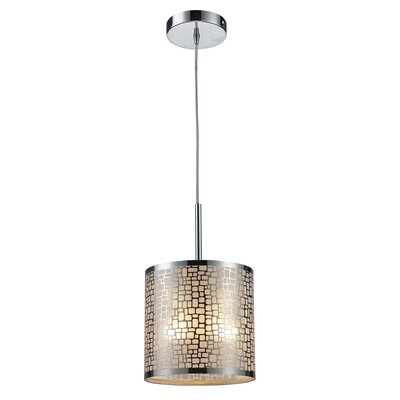 Pyla 1-Light Mini Pendant Finish: Aged Bronze