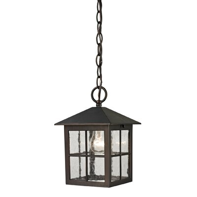 Tierra 1-Light Hanging Foyer Pendant