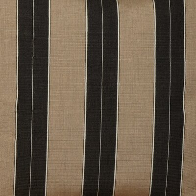 Outdoor Bench Cushion Fabric: Sunbrella Berenson Tuxedo