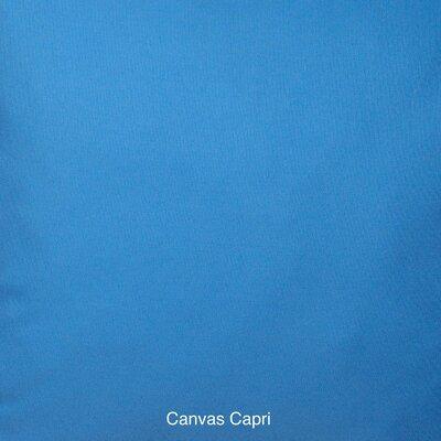 Outdoor Bench Cushion Fabric: Sunbrella Canvas Capri