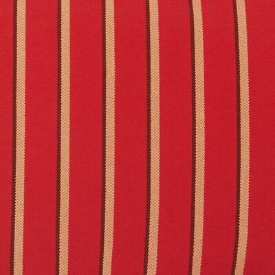 Outdoor Bench Cushion Fabric: Sunbrella Harwood Crimson