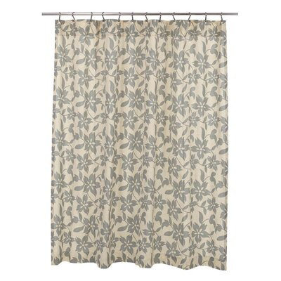 Groveland Shower Curtain Color: Sage
