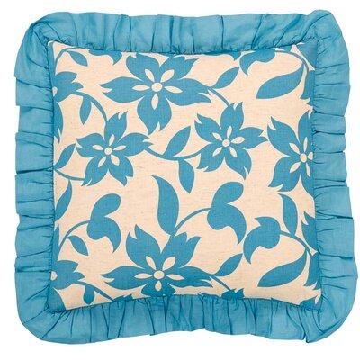 Groveland Throw Pillow Color: Azure