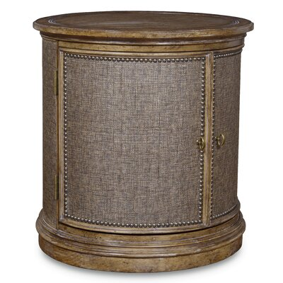 Akdeniz Drum End Table