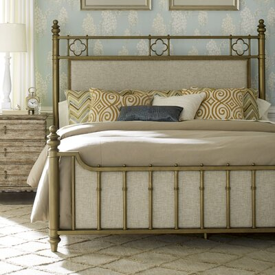 Akrotiri Upholstered Panel Bed Size: Queen