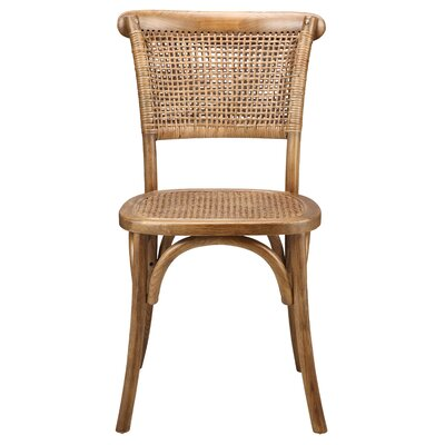 Isle Royale Dining Side Chair Color: Brown