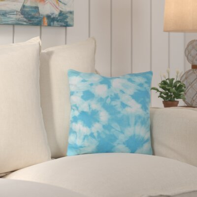 Tinisha Chillax Geometric Outdoor Throw Pillow Color: Turquoise