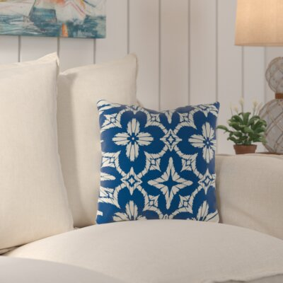 Zoe Indoor/Outdoor Throw Pillow Size: 18 H x 18 W x 4 D