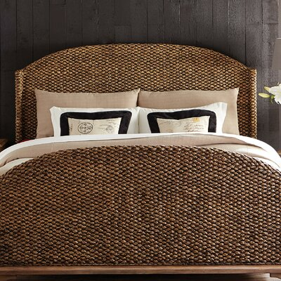 Belleview Wingback Headboard Size: King
