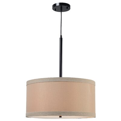 Shelley 2-Light Drum Pendant Finish: Oil Rubbed Bronze