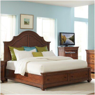 Leander Storage Panel Customizable Bedroom Set
