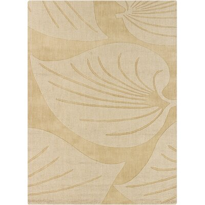 Carthage Leaf Design Rug Rug Size: 7 x 10