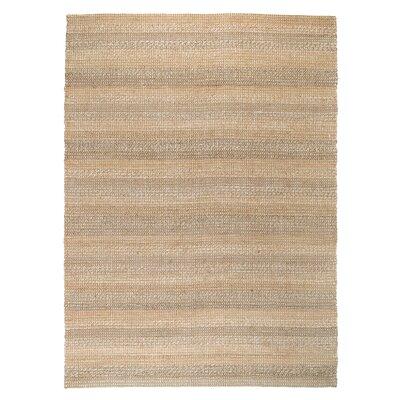 Knodara Hand-Woven Beige Area Rug Rug Size: 8 x 10