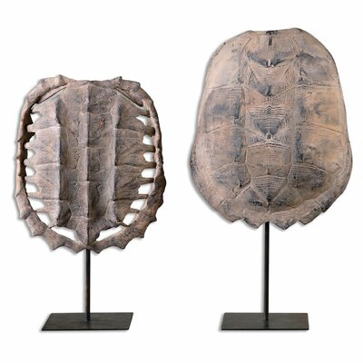 2 Piece Turtle Shell Set