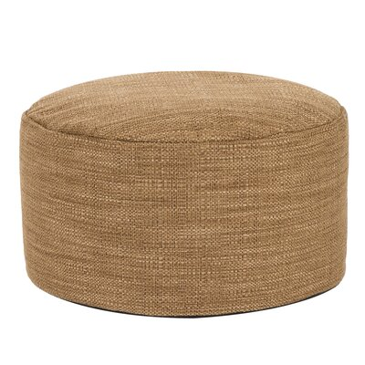 Rollinsford Foot Pouf Ottoman Color: Topaz