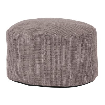 Rollinsford Foot Pouf Ottoman Color: Slate