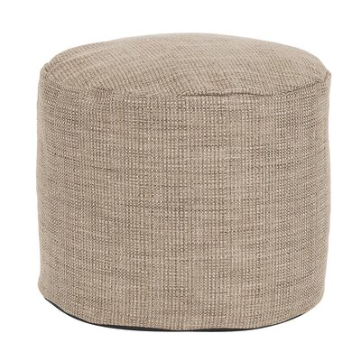 Springvale Tall Pouf Ottoman Color: Stone