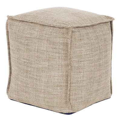 Piermont Pouf Color: Stone