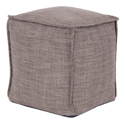 Piermont Pouf Color: Slate