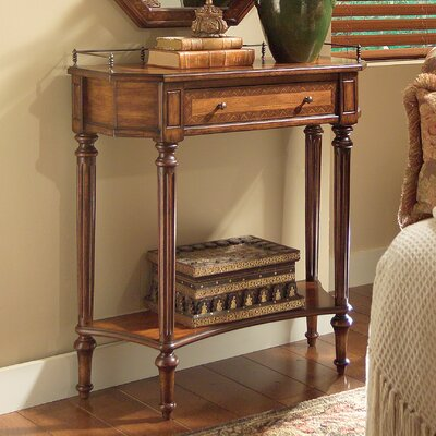 Madalene Console Table Finish: Umber