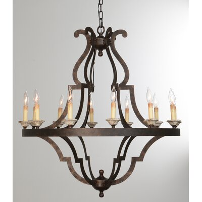 Marie 12-Light Candle-Style Chandelier