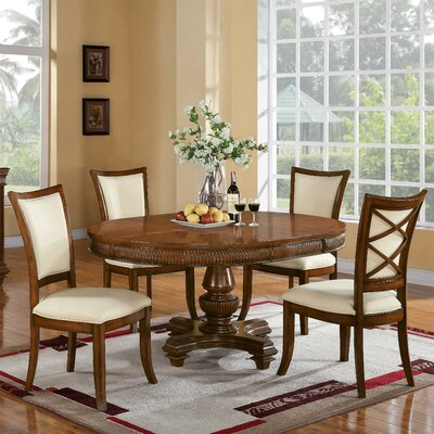 Leander 5 Piece Dining Set