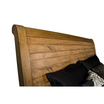 Cayo Sleigh Headboard Size: California King
