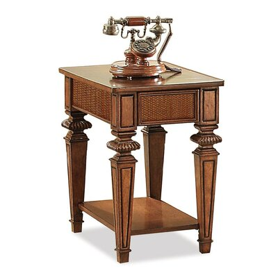 Leander Wood End Table