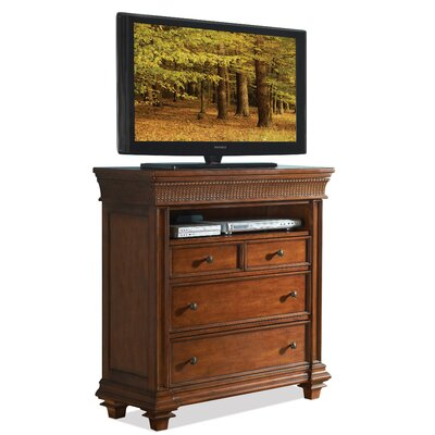 Leander 4 Drawer Media Chest