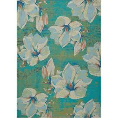 Suffield Light Green Indoor/Outdoor Area Rug Rug Size: 10 x 13