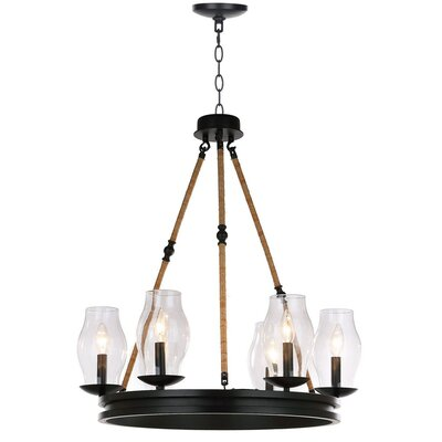 Cobham 6-Light Candle-Style Chandelier