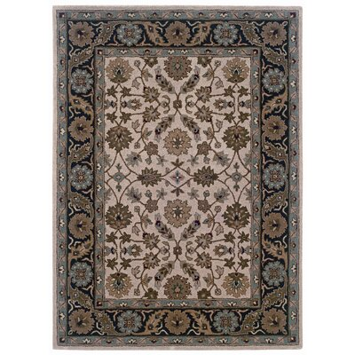 Milo Hand-Tufted Beige Area Rug Rug Size: Rectangle 8 x 10