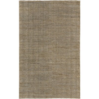 Tai Hand-Woven Light Gray Area Rug Rug Size: Rectangle 5 x 8