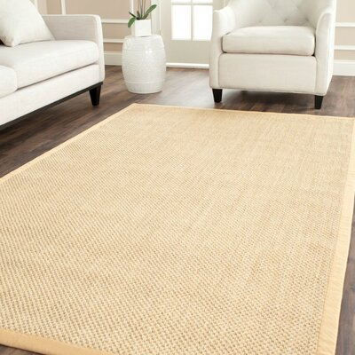 Quigley Maize/Wheat Area Rug Rug Size: 10 x 14