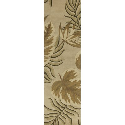 South Sand Fauna Area Rug Rug Size: Runner 23 x 8
