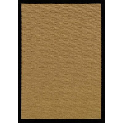 Weatherton Border Beige / Black Contemporary Area Rug Rug Size: 18 x 37