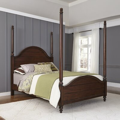 Canouan Four poster Bed Size: King