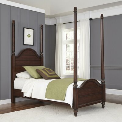Canouan Four poster Bed Size: Twin
