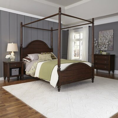 Canouan Canopy 3 Piece Bedroom Set Size: King