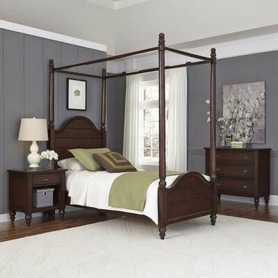 Canouan Canopy 3 Piece Bedroom Set Size: Twin
