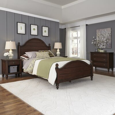 Pablo Panel 4 Piece Bedroom Set Size: King