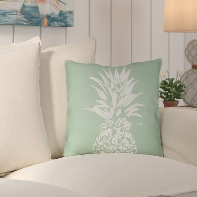 Jazmine Outdoor Throw Pillow Size: 20 H x 20 W x 4 D, Color: Green