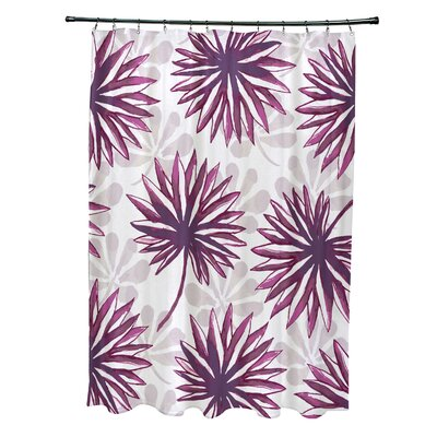 Costigan Shower Curtain Color: Purple