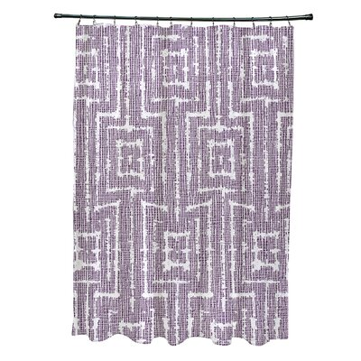 Thirlby Shower Curtain Color: Purple