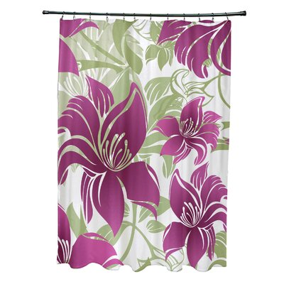Costigan Shower Curtain Color: Purple