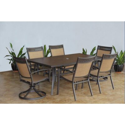 Colville Rectangular Dining Set - Product photo