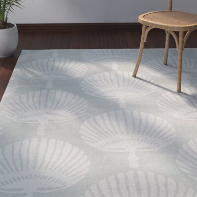 Edgartown Gray Area Rug Rug Size: Square 6