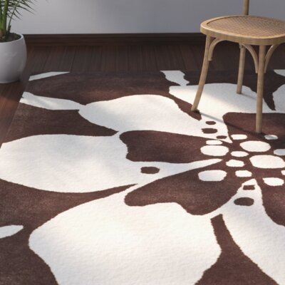 Snapdragon Hand-Tufted Brown/Beige Area Rug