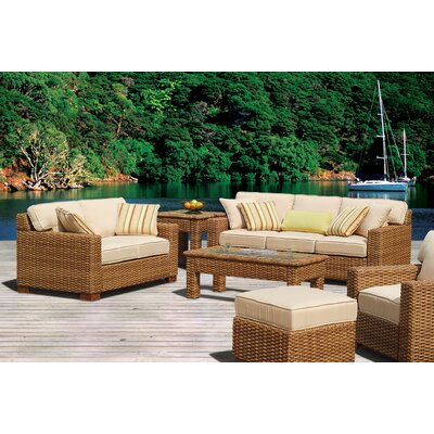 New Chorio Deep Seating Group Sunbrella Cushions - Product picture - 4119